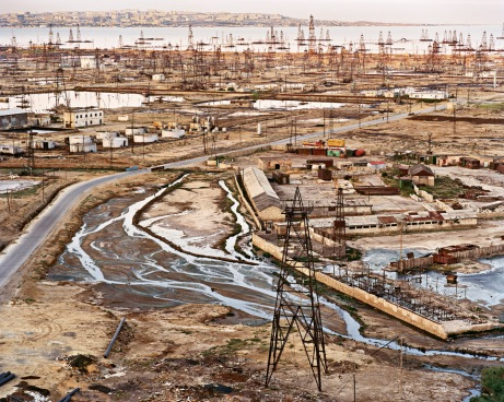 Oil Refinery Azerbaijan - SOCAR Baku - Petroleum Industry Destruction of Everywhere it touches