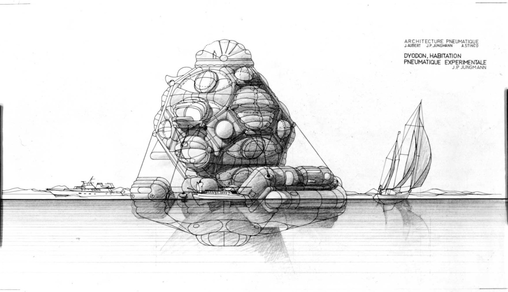 Gorgeous renderings of an inflatable utopia from the recent past. (1/2)