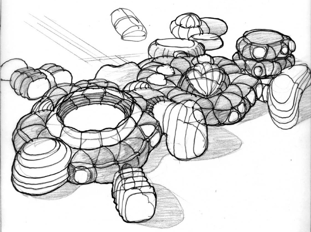 Gorgeous renderings of an inflatable utopia from the recent past. (2/2)