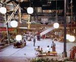 interior of new babylon as a shopping mall