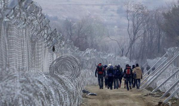 APTOPIX Macedonia Migrants